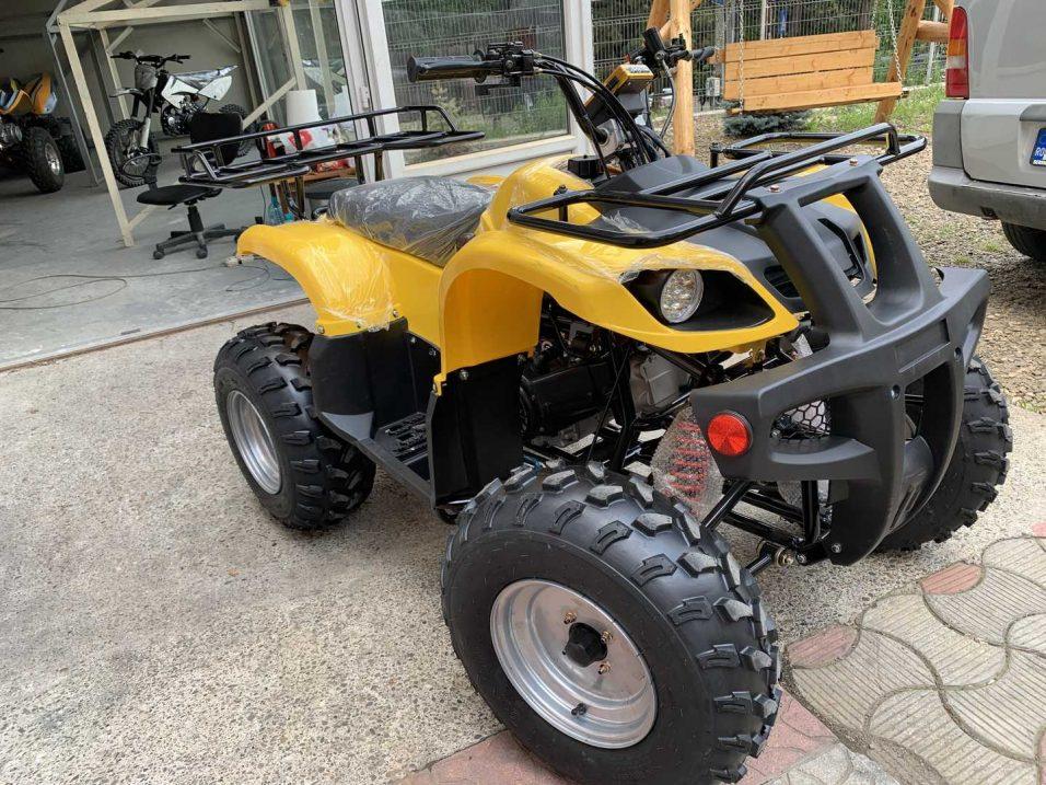 atv ieftin de vanzare Hummer maxi 250 cmc galben/negru