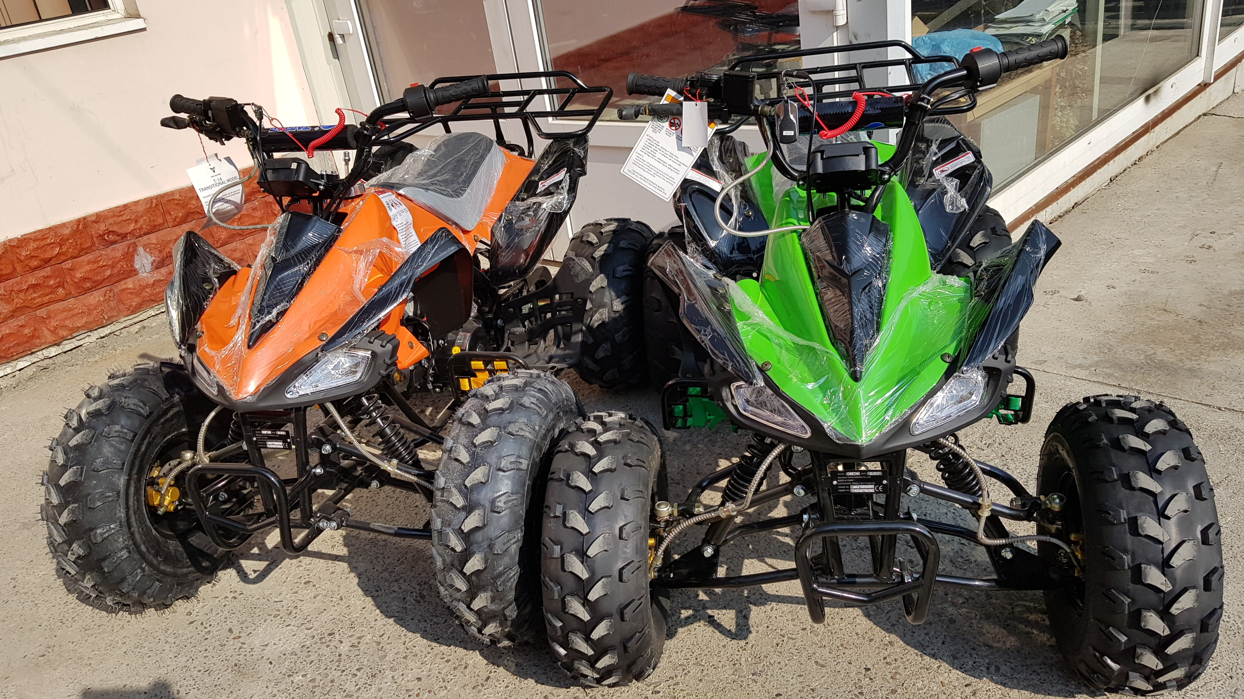 ATV RAPTOR SPYDER 7 inch Model Nou 2021, calitate US